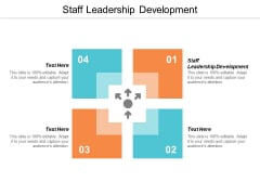 Staff Leadership Development Ppt PowerPoint Presentation Outline Aids Cpb