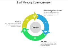 Staff Meeting Communication Ppt PowerPoint Presentation Portfolio Cpb