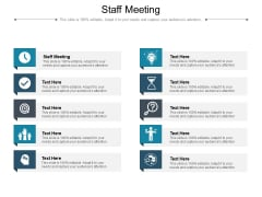 Staff Meeting Ppt PowerPoint Presentation File Maker Cpb Pdf