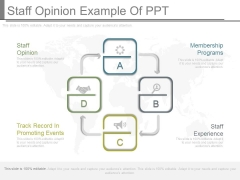 Staff Opinion Example Of Ppt