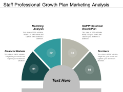 Staff Professional Growth Plan Marketing Analysis Financial Markets Ppt PowerPoint Presentation Icon Graphics
