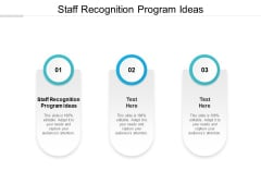 Staff Recognition Program Ideas Ppt PowerPoint Presentation Layouts Summary Cpb