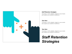 Staff Retention Strategies Ppt PowerPoint Presentation Outline Themes Cpb