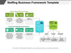 Staffing Business Framework Template Ppt PowerPoint Presentation Gallery Graphics Design PDF