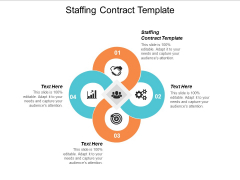 Staffing Contract Template Ppt Powerpoint Presentation Model Inspiration Cpb