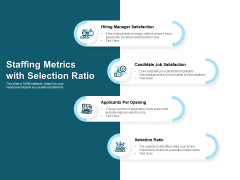 Staffing Metrics With Selection Ratio Ppt PowerPoint Presentation Picture