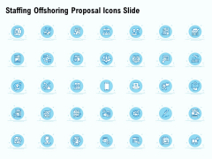 Staffing Offshoring Proposal Icons Slide Ppt Icon Smartart