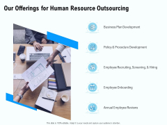 Staffing Offshoring Proposal Our Offerings For Human Resource Outsourcing Download PDF