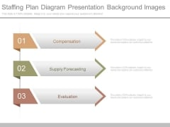 Staffing Plan Diagram Presentation Background Images