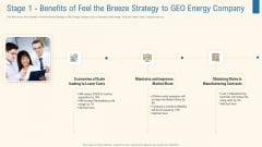 Stage 1 Benefits Of Feel The Breeze Strategy To Geo Energy Company Introduction PDF
