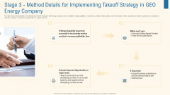 Stage 3 Method Details For Implementing Takeoff Strategy In Geo Energy Company Introduction PDF