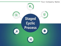 Staged Cyclic Process Development Planning Ppt PowerPoint Presentation Complete Deck