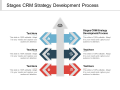 Stages CRM Strategy Development Process Ppt PowerPoint Presentation Pictures Show Cpb