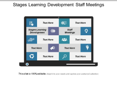 Stages Learning Development Staff Meetings Ppt PowerPoint Presentation Outline Infographic Template