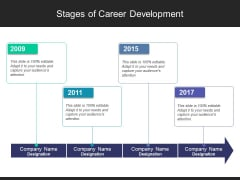Stages Of Career Development Ppt PowerPoint Presentation Styles Background Image