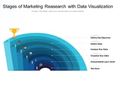 Stages Of Marketing Reasearch With Data Visualization Ppt PowerPoint Presentation Styles Ideas PDF