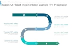 Stages Of Project Implementation Example Ppt Presentation