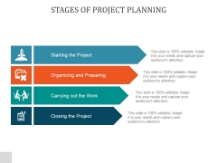 Stages Of Project Planning Ppt PowerPoint Presentation Icon