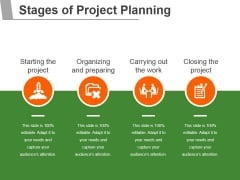 Stages Of Project Planning Ppt PowerPoint Presentation Model