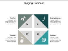 Staging Business Ppt PowerPoint Presentation Infographics Example Introduction Cpb