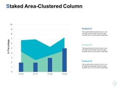 Staked Area Clustered Column Finance Ppt PowerPoint Presentation Ideas Pictures