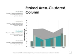 Staked Area Clustered Column Ppt Powerpoint Presentation Infographics Elements