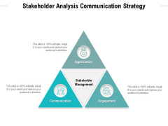 Stakeholder Analysis Communication Strategy Ppt PowerPoint Presentation Summary Maker