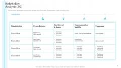 Stakeholder Analysis Interest Steps To Improve Customer Engagement For Business Development Portrait PDF
