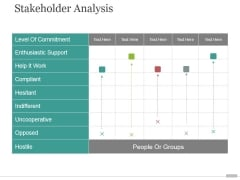 Stakeholder Analysis Ppt PowerPoint Presentation Slide Download