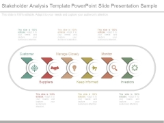 Stakeholder Analysis Template Powerpoint Slide Presentation Sample