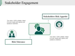 Stakeholder Engagement Ppt PowerPoint Presentation Gallery Display