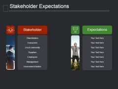 Stakeholder Expectations Ppt PowerPoint Presentation Tips
