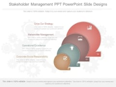 Stakeholder Management Ppt Powerpoint Slide Designs