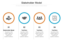 Stakeholder Model Ppt PowerPoint Presentation Icon Background Cpb