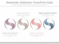 Stakeholder Satisfaction Powerpoint Guide