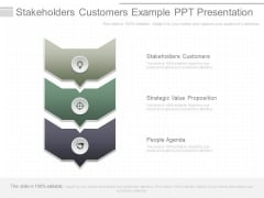Stakeholders Customers Example Ppt Presentation