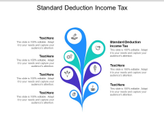 Standard Deduction Income Tax Ppt PowerPoint Presentation Icon Design Templates Cpb Pdf
