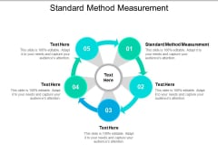 Standard Method Measurement Ppt PowerPoint Presentation Gallery Objects Cpb