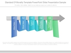 Standard Of Morality Template Powerpoint Slide Presentation Sample