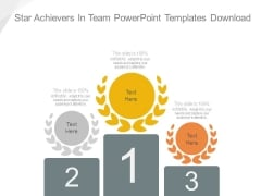 Star Achievers In Team Powerpoint Templates Download