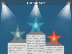 Star Achievers Ppt PowerPoint Presentation Background Image