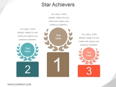 Star Achievers Ppt PowerPoint Presentation Infographics Good