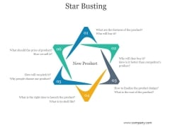 Star Busting Ppt PowerPoint Presentation Show