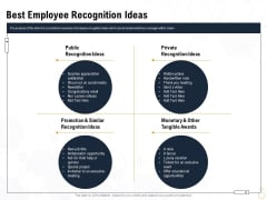 Star Employee Best Employee Recognition Ideas Ppt Portfolio Ideas PDF