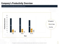 Star Employee Companys Productivity Overview Ppt Infographic Template Files PDF