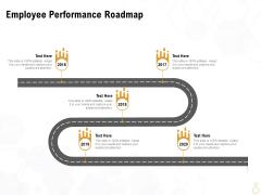 Star Employee Employee Performance Roadmap Ppt Portfolio Aids PDF
