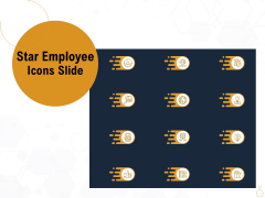 Star Employee Icons Slide Ppt Summary Picture PDF