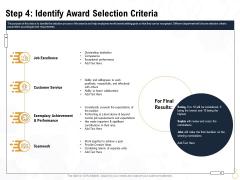 Star Employee Step 4 Identify Award Selection Criteria Infographics PDF