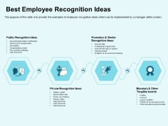 Star Performer Best Employee Recognition Ideas Ppt Infographics Clipart Images PDF
