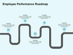 Star Performer Employee Performance Roadmap Ppt Inspiration Slideshow PDF